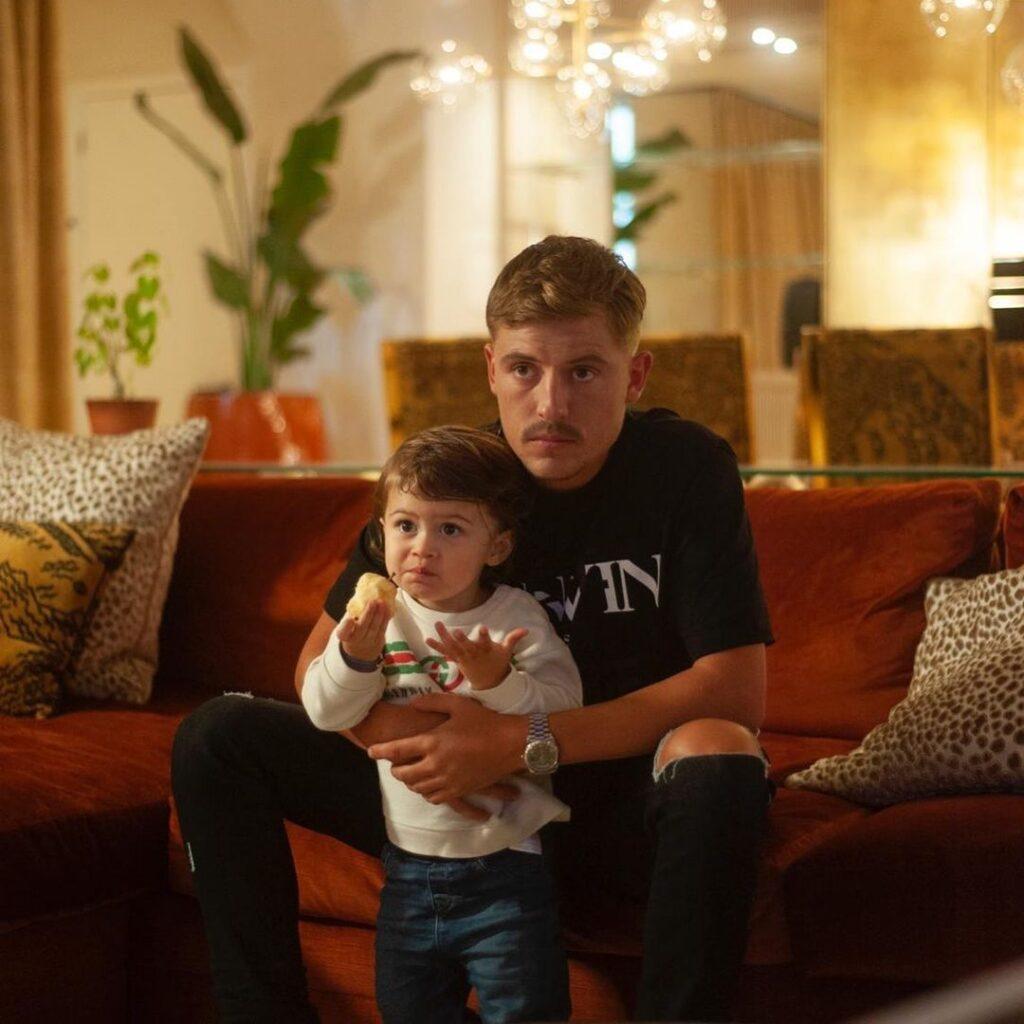 Lil Kleine videoclip Droom met zijn zoontje